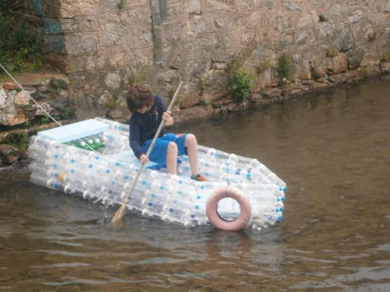 Exploring Different Forms Of Art Plastic Bottle Boat